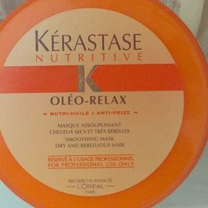 Oleo relax Kerastase professional hair mask